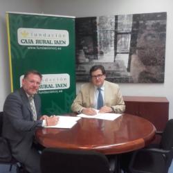 Firma de convenio con Jaén Rugby