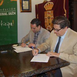 Firma de Convenio con el Excmo. Ayuntamiento de Alcalá La Real