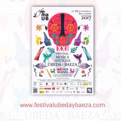 Programación XXI Festival Música Antigua de Úbeda y Baeza
