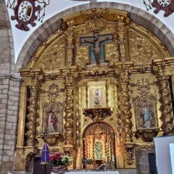 Restauración del retablo mayor de la Parroquia de San Miguel Arcángel de Vilches