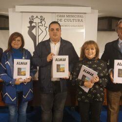 """Firma de convenio de colaboración """"Revista Aldaba nº45"""""""