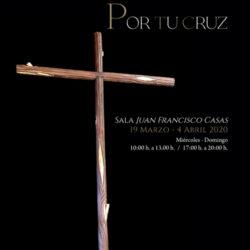 """La exposición """"Quia Crux Tua. Por tu cruz"""" muestra los enseres de la Semana Santa Carolinense"""