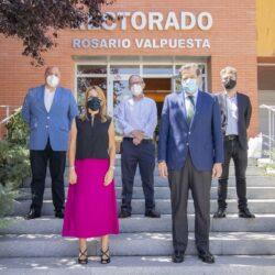 La Fundación de Municipios y la Fundación Caja Rural de Jaén sellan su colaboración para difundir el legado de Pablo de Olavide