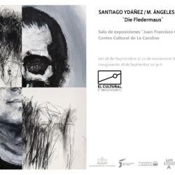Exposición Santiago Ydañez y María de los Ángeles Diz Barbado.