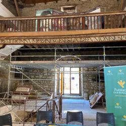 Restauración del alfarje de la Iglesia de San Lorenzo